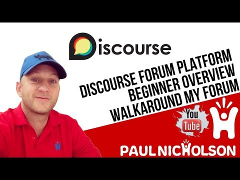 Discourse Forum Platform Overview - Why I Love It But No Longer Use It