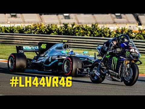 Lewis Hamilton & Valentino Rossi: The Ultimate Ride Swap