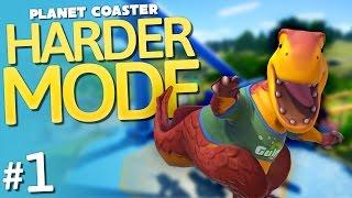 Planet Coaster   Harder Mode   Part 1