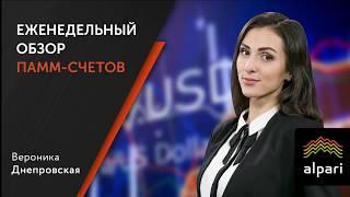 Еженедельный обзор ПАММ счетов 18.12.2017