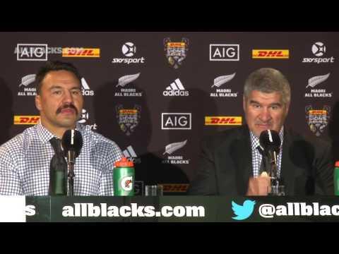 REACTION: Maori All Blacks press conference