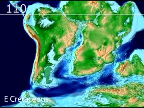 Plate Tectonic Evolution of the South Atlantic: Scotese Animation
