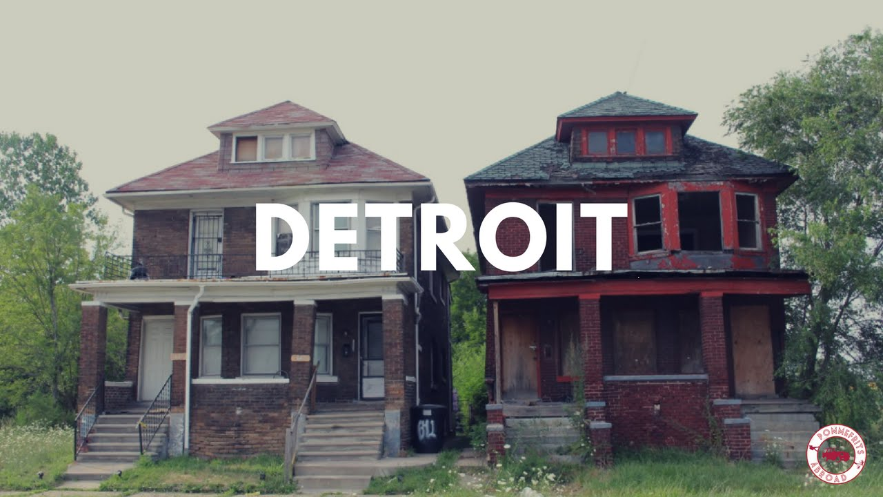 Detroit abandoned neighborhoods
