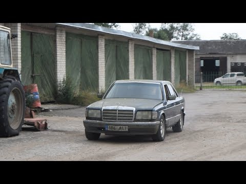 1983 Mercedes-Benz w126 380SE Test Drive After 9 Years (1080p)