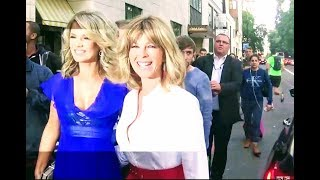 Kate Garraway & Charlotte Hawkins - TV Choice Awards 2018 - Arrivals 09/08/2018