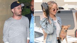 Jennifer Lawrence And Boyfriend Darren Aronofsky Have A Hot Date In Malibu