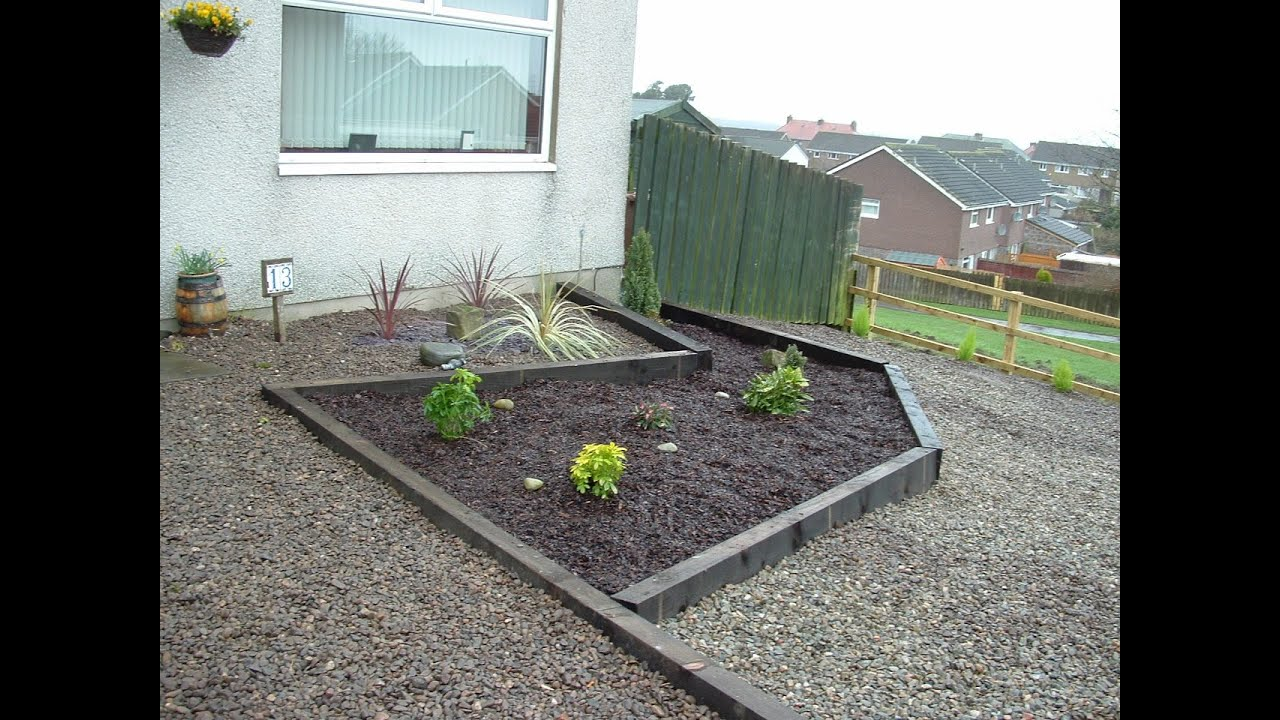 Front garden design i open front garden design youtube for Simple front garden designs