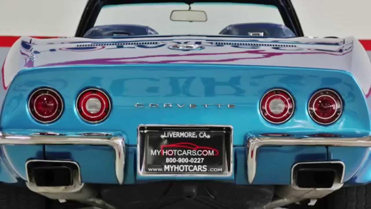 1971 corvette convertible my hot cars video showcase