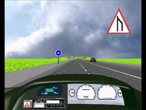 END OF DUAL ROAD - FREE K53 LEARNERS LICENSE WEBSITE. WITH GRAPHICS ANIMATION AND SOUND