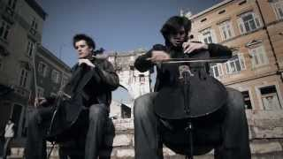 2CELLOS - Welcome To The Jungle [OFFICIAL VIDEO]