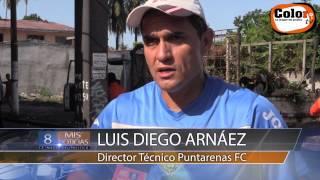 Puntarenas FC limpia los alrededores del Estadio Lito Perez