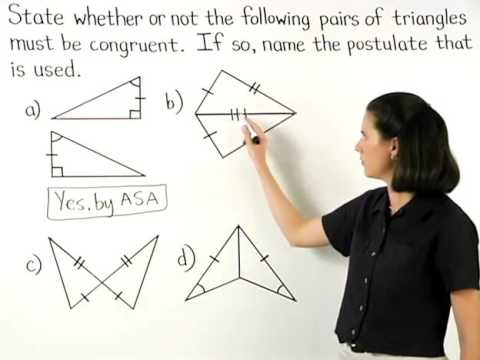 Proving Triangles Are Congruent Mathhelp