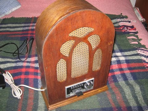 How to make a 1930's style domestic radio