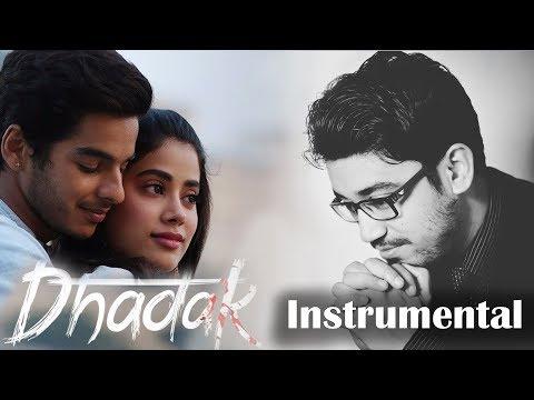Dhadak Karaoke | Ajay Gogavale & Shreya Ghoshal | Instrumental Lyrical | Ajay-Atul | KRS