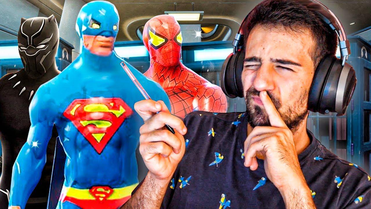 ¡¡ CREANDO SUPERHEROES EN FORTNITE FAMOSOS !! EPICO - ElChurches