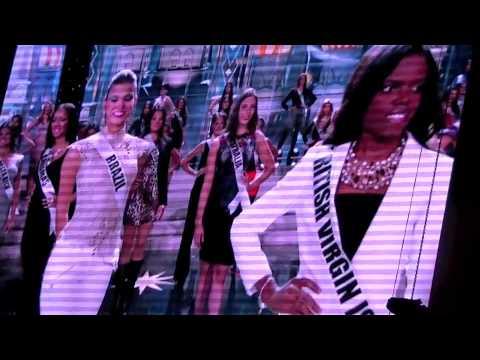 Sneak Peek at Miss Universe Rehearsals 2013