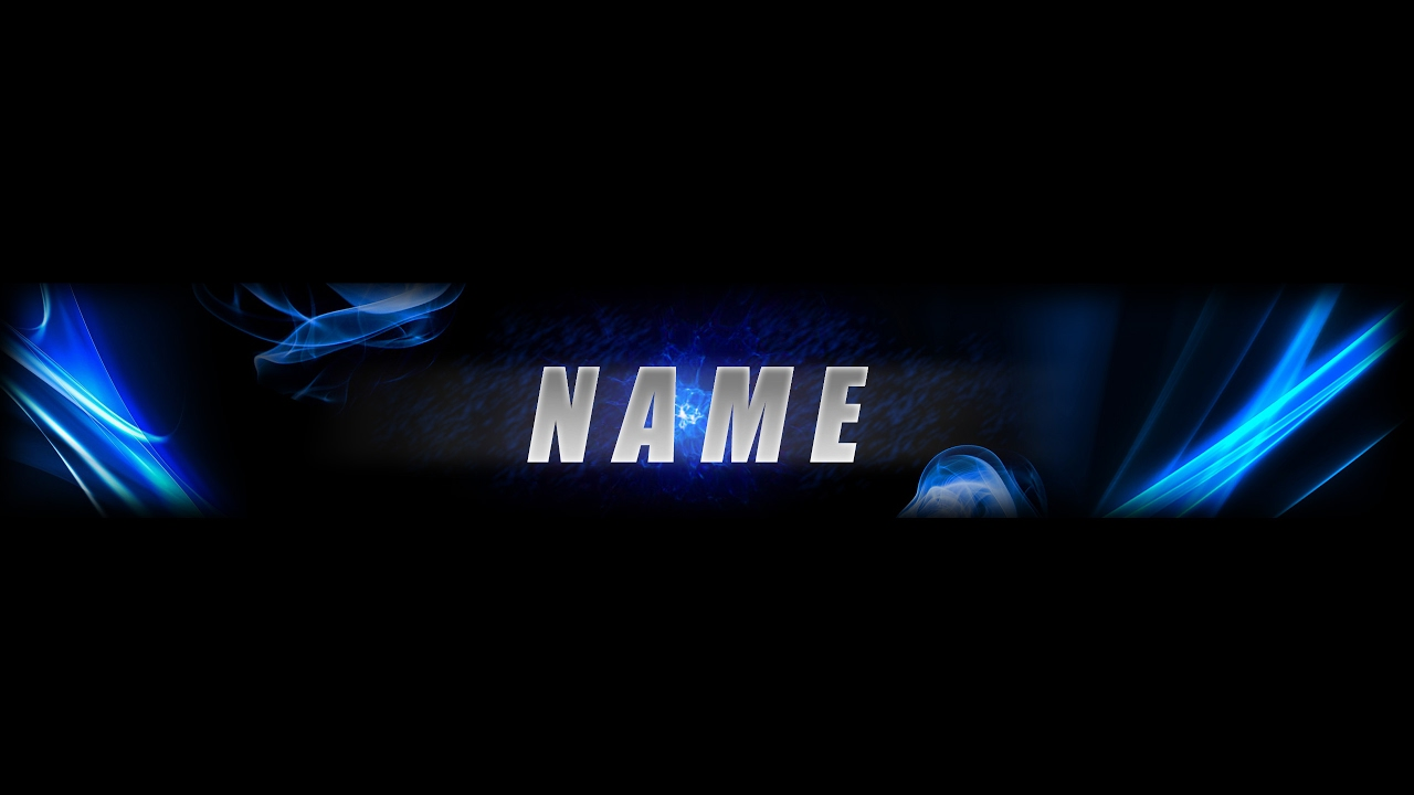 Free Youtube Banner Template 2017 No Text