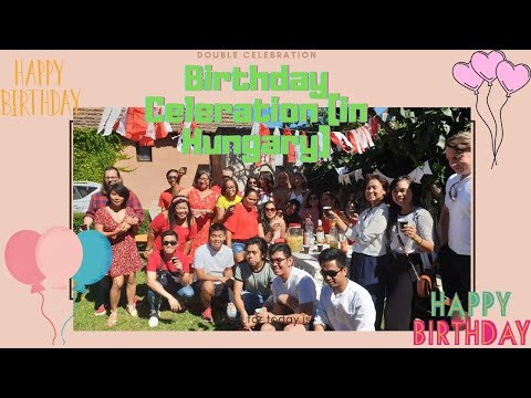 Simple Life in Budapest : SIMPLE BIRTHDAY CELEBRATION EVENT (Filipino Community in Hungary )