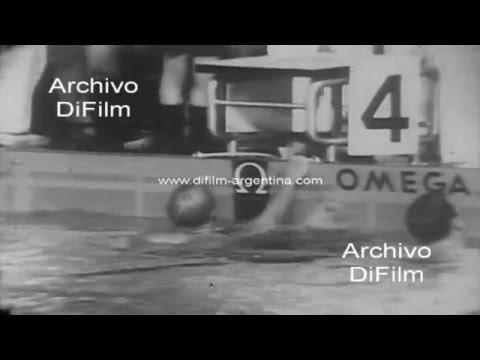 DiFilm - Donald Schollander y Deborah Meyer record de natacion 1967