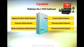Candela retail pos and inventory software is completely barcode enabled compatible with all hardware. it has special features for size color b...