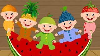Five little Babies Nursery Rhymes Baby Video