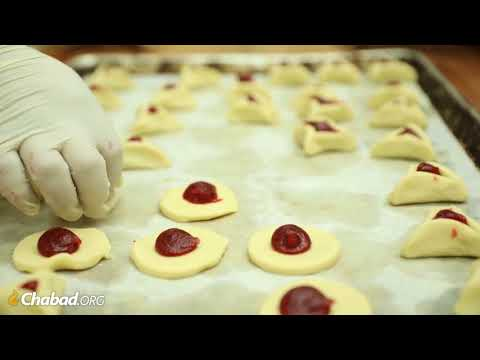 How Hamantashen Are Made