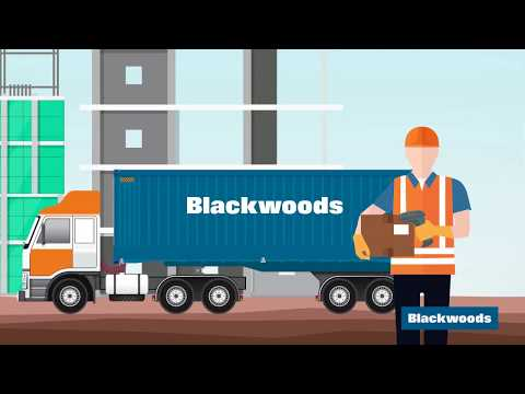 Why do Australia's largest construction companies depend on Blackwoods?