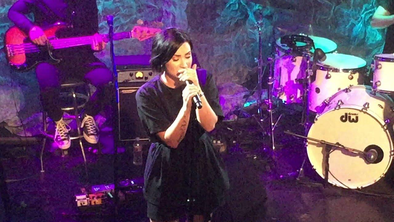 Download Demi Lovato - 'Nightingale' (Live at Lovato Benefit Concert) | Perez Hilton