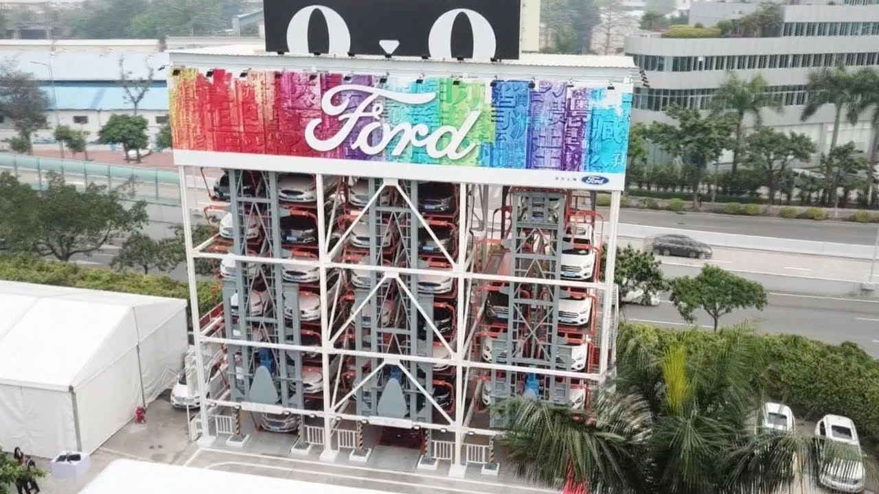 d824bf3d5a Alibaba launches car vending machine in Guangzhou