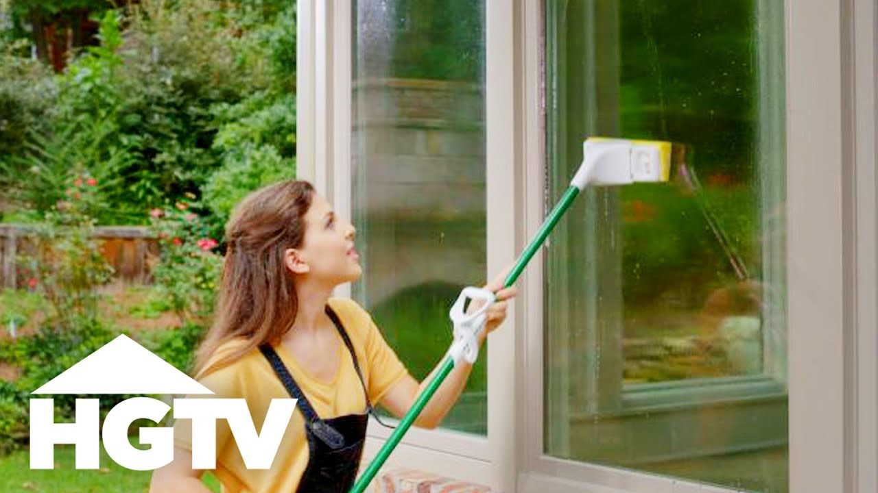 How To Clean Windows House Hgtv You