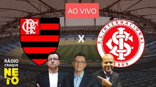 Flamengo x Internacional | AO VIVO | Rádio Craque Neto - Libertadores 2019
