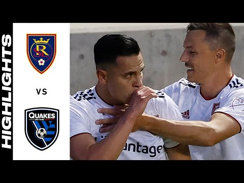 Real Salt Lake San Jose Earthquakes Goals And Highlights