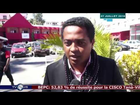 JOURNAL DU 27 JUILLET 2016 BY TV PLUS MADAGASCAR