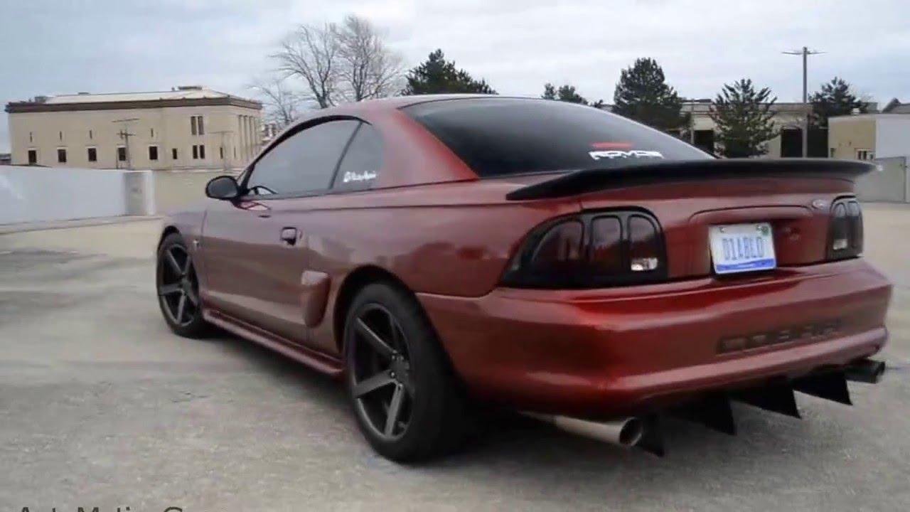 Slp Loudmouth 1 Catback Sn95 Mustang Youtube