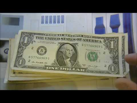BIG FINDS! Bill Searching For Rare Bank Notes Worth Lots Of Money