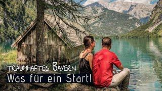 Die ERSTE REISE nach dem VAN AUSBAU | So traumhaft ist Bayern | Teil 1