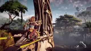 Horizon : Zero Dawn - Video de gameplay 4K - PS4 Pro