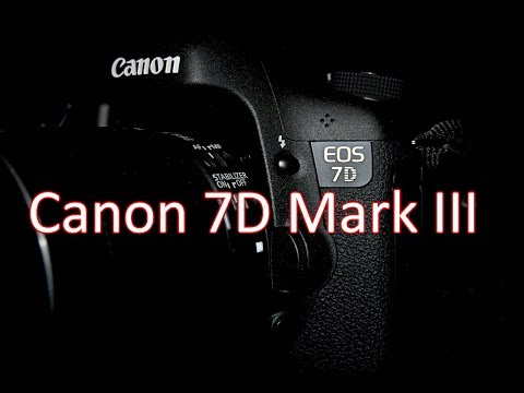 Canon 7D Mark III Announcement, Specification and Price - Rumor