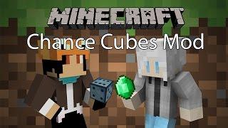 Minecraft Mod รีวิว (ฉบับละคร) - Mod ลุ้นโชค | Chance Cubes Mod [1.8.9]