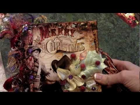 "Charles Dickens ""A Christmas Carol"" Altered Star Book/Mini Album Kit"
