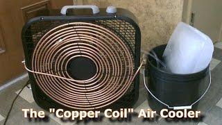 Ev yapımı AC - ''Bakır Bobin'' Hava Soğutucu! - (Basit ''Kutu Fan'' Dönüşüm) - Kolay DİY