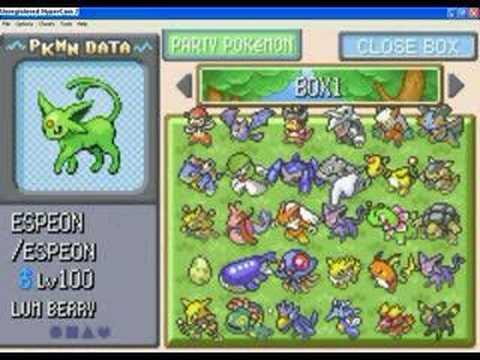 Pokemon Emerald Gameshark Youtube