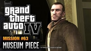 GTA 4 - Mission #63 - Museum Piece (1080p)