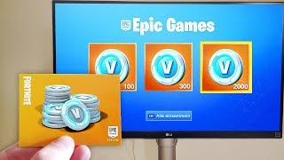 With this Fortnite card you get V-BUCKS! (Booster Pack)