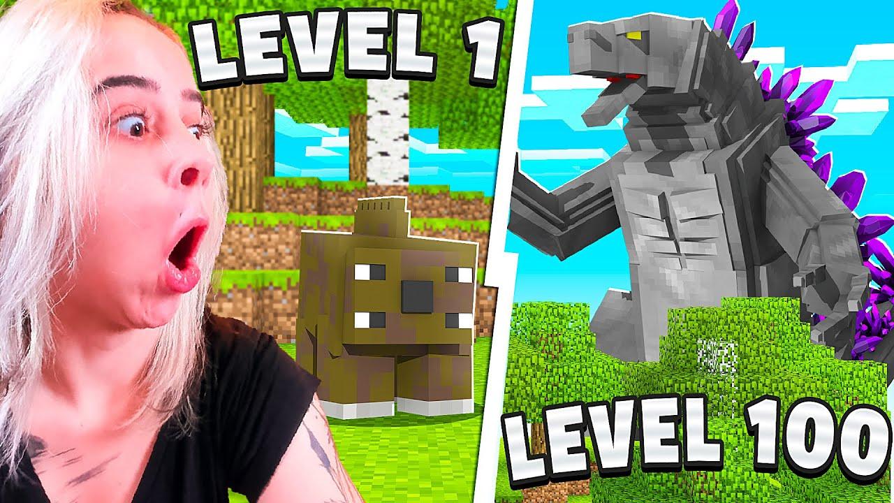 Download Minecraft Monstros level 1 até level 100!