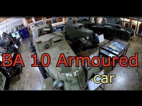 BA-10 Armoured car-Parola Tank Museum