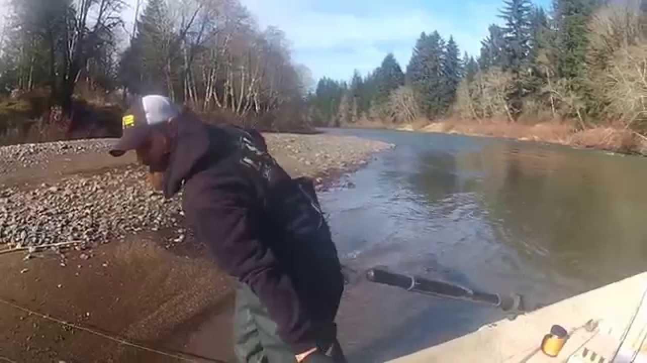 2015 siletz river steelhead youtube for Siletz river fishing report