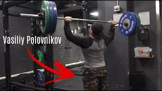 Super STRONG Russian Weightlifter CRASHES Our Workout