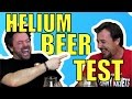 Helium Beer Test | Short Version with English Subtitles
