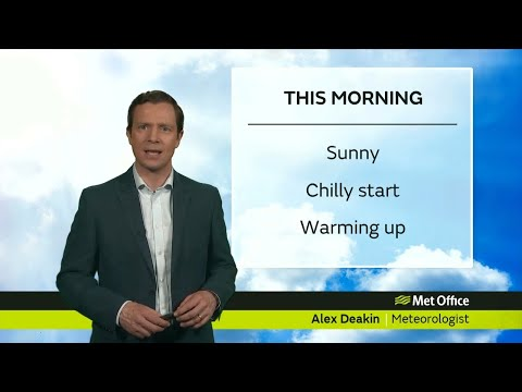 Saturday morning forecast - 19/05/18